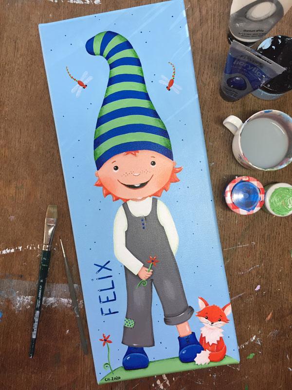 Glückswichtel Wichtel Wichtelfabrik Geschenk Kinder Kinderzimmer