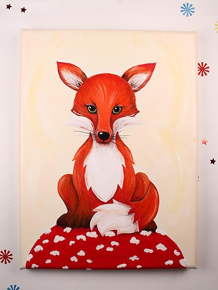 Kinderzimmerbild/Wunschbild Fuchs